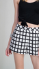 Window Pane Shorts - The Walk-in Boutique