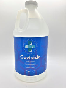 Coviside Half Gallon Hand Sanitizer (75% Alcohol)-Extra Strength Liquid