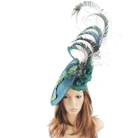 Gina Peacock Ascot Fascinator Hat