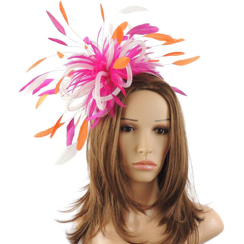 Gemini Fluffy Fascinator Hat
