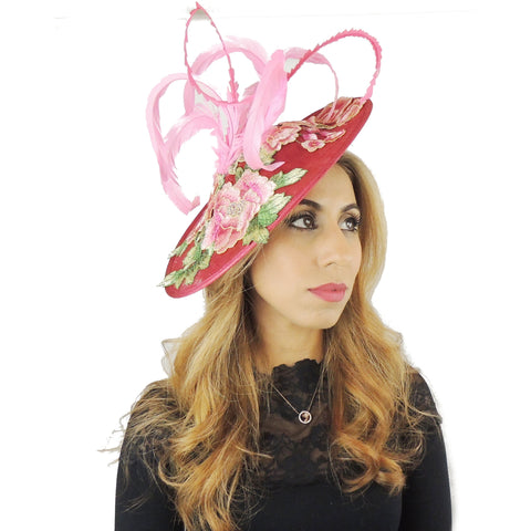 Luciana Ascot Fascinator Hat - Hats By Cressida