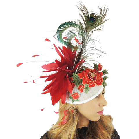 Isabella Ascot Fascinator Hat