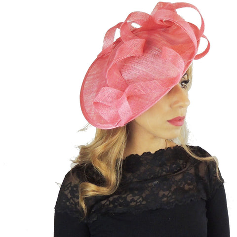 Lavinia Feather Free Fascinator