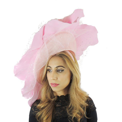 Parisa XL Rose Fascinator
