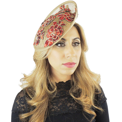 Juno Feather Free Fascinator