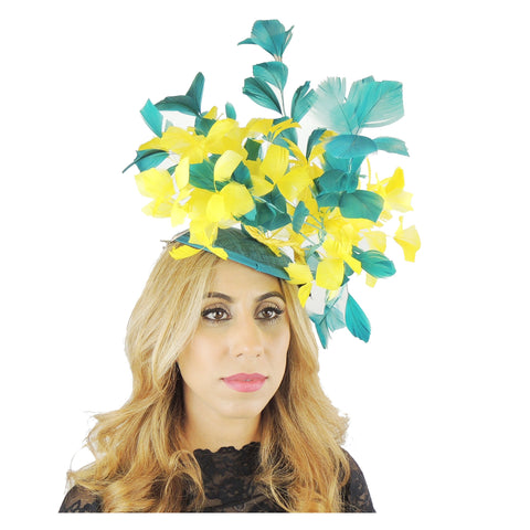 Tamora Ascot Fascinator Hat - Hats By Cressida