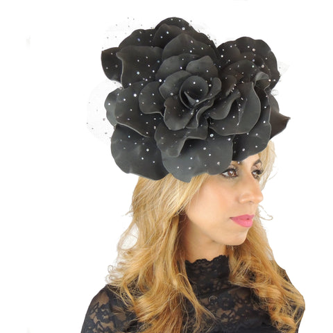 Parisa Medium Rose Fascinator