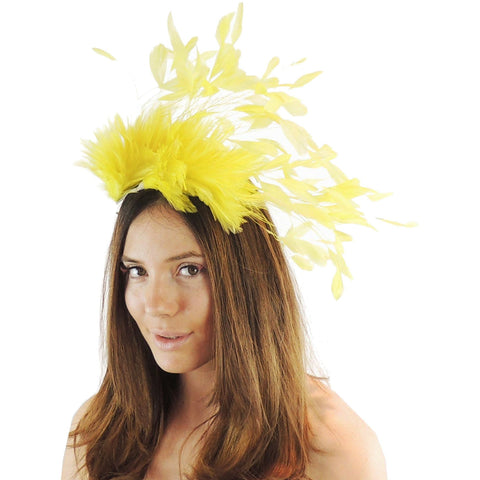Desdemona Feather Fascinator