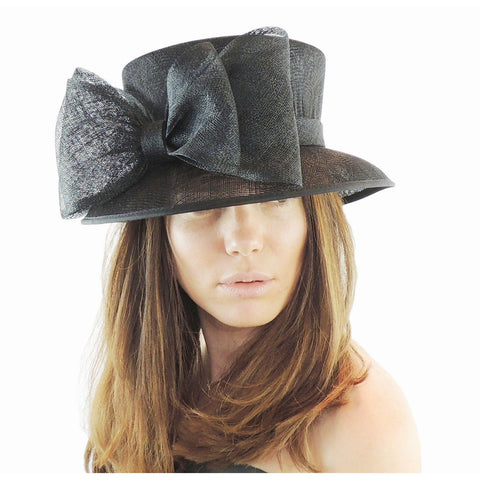 Small Marianne Bow Ascot Hat