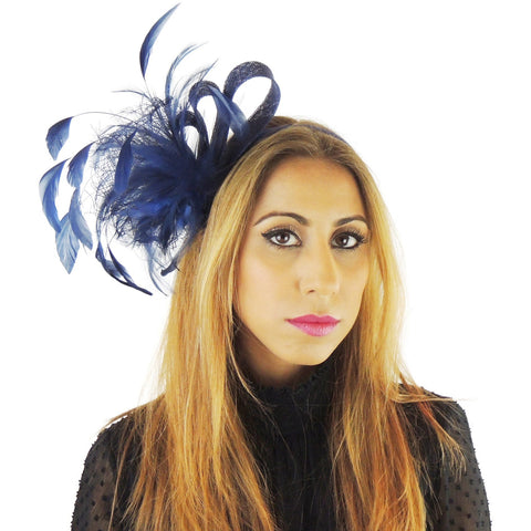 Charley  Fascinator - Hats By Cressida
