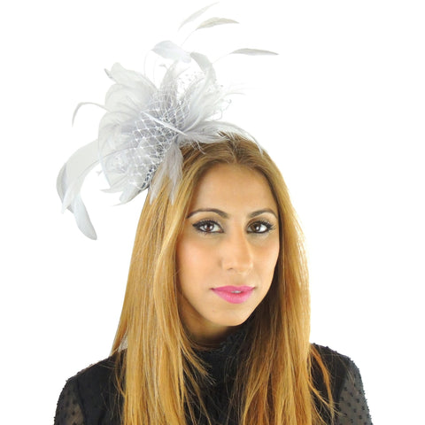 Cleo Fascinator - Hats By Cressida