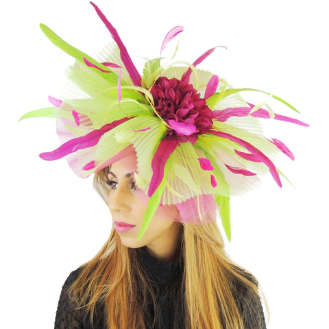 Jenny Large Feather Fascinator