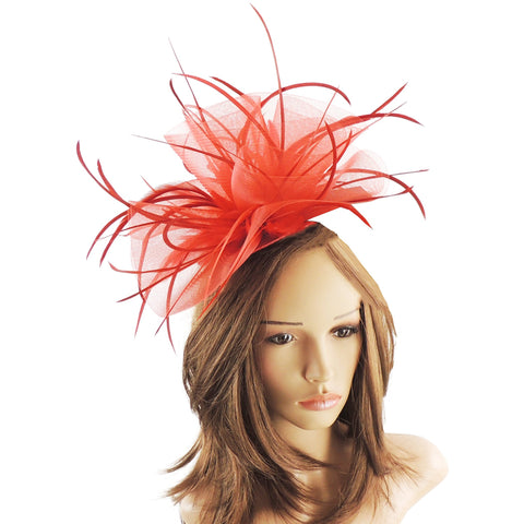 Blue Blaser Crin Fascinator
