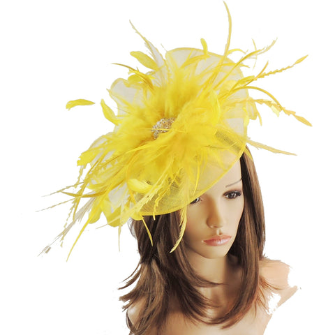 Small Petia Fascinator Hat - Hats By Cressida