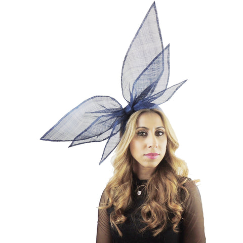 Raphael Bow Fascinator - Hats By Cressida