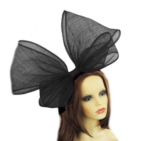 Red Kite Bow Fascinator Hat