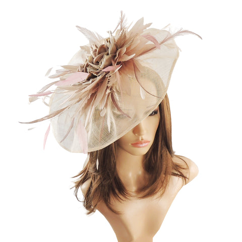 Octavia Fascinator - Hats By Cressida