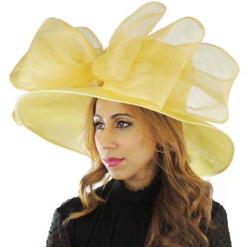 Magpie Large Kentucky Derby Ascot Hat in 30 Colours