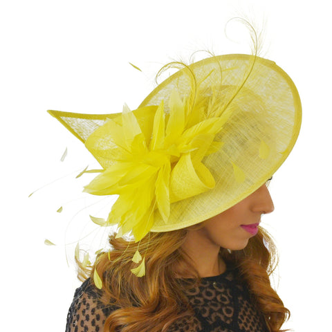 Adonis Fascinator Hat - Hats By Cressida