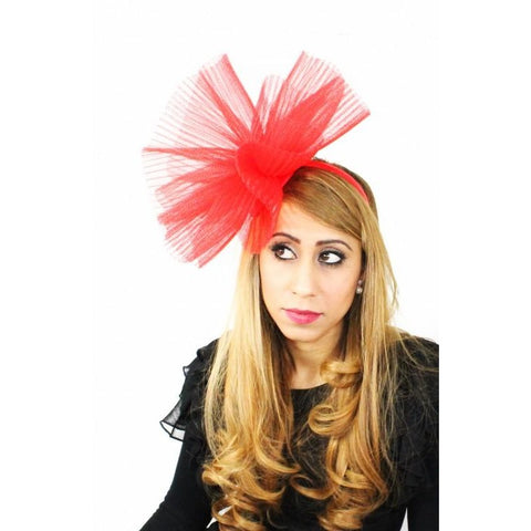 Sharpei Fascinator - Hats By Cressida