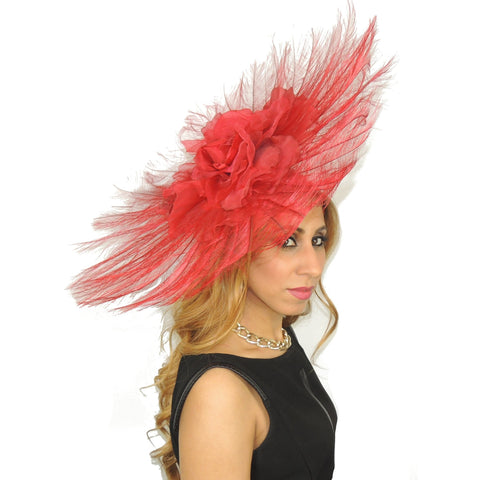 Angel`s Delight Fascinator Hat - Hats By Cressida