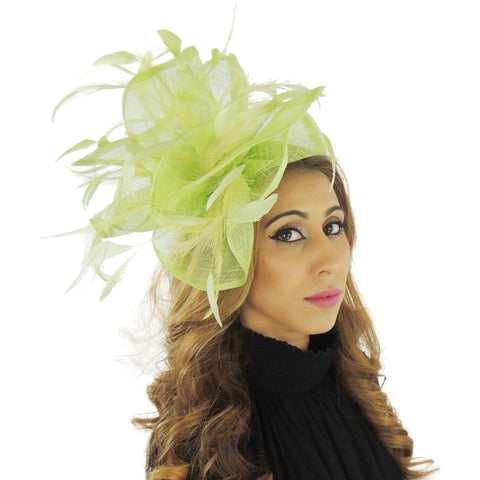Bahama Mama Feather Fascinator