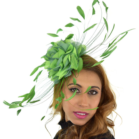 Marie Flower Fascinator Hat
