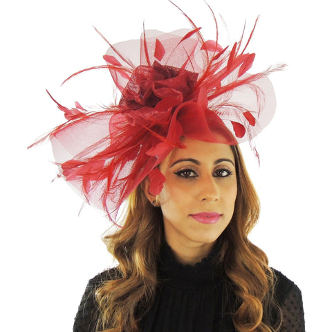 Mississippi Mud Pie Fascinator - Hats By Cressida