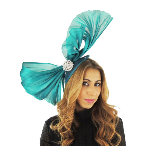 Omadhoo Silk Fascinator - Hats By Cressida