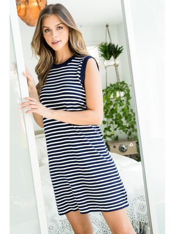Nautical Days Stripe Dress