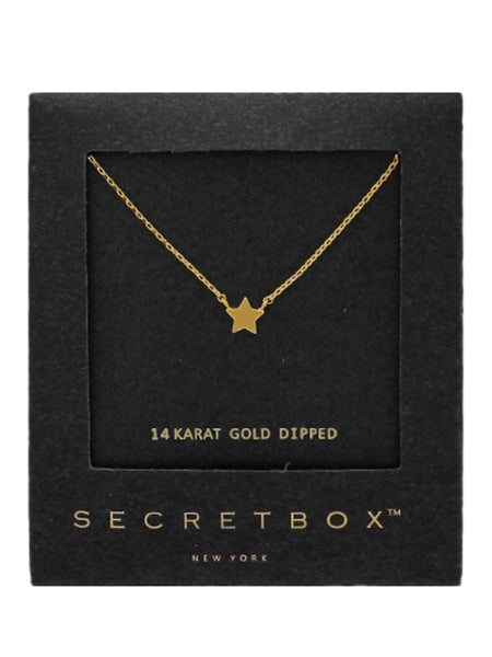Secret Box Star Necklace