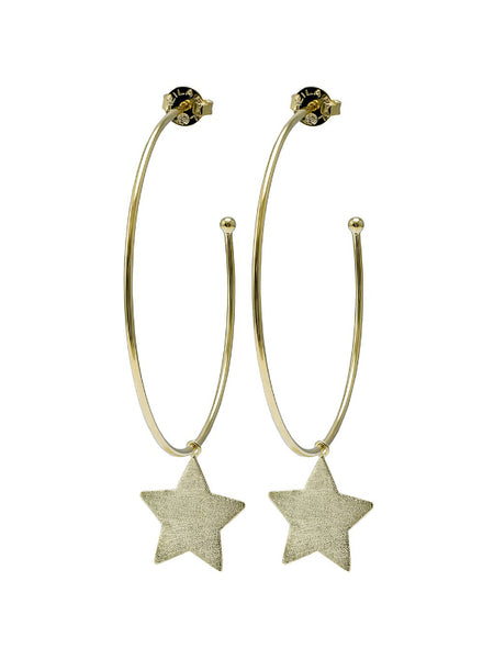 Shelia Fajl Small Phoenix Star Hoops