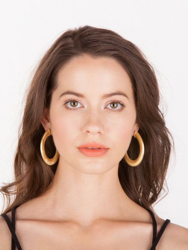 Shelia Fajl Irene Hoop Earrings