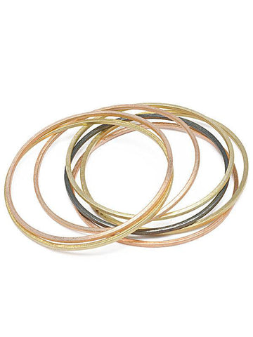 Shelia Fajl Thin Flat Bangle