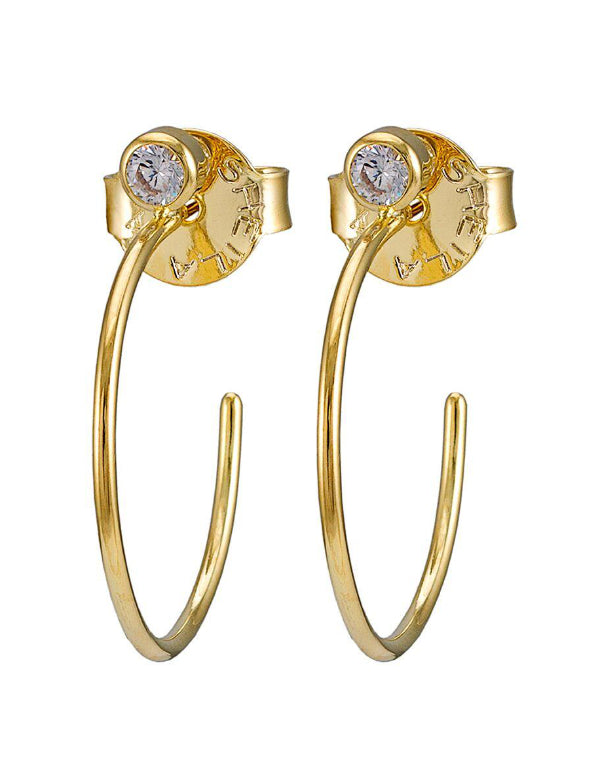 Shelia Fajl Small Sima Hoops