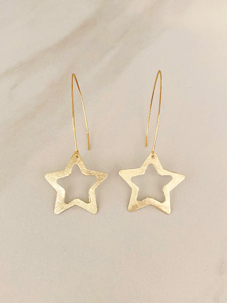 Star Dangle Earring