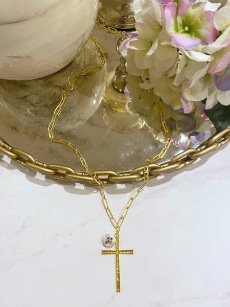 The Abigail Cross Necklace