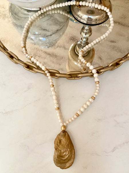 The Aria Oyster Necklace