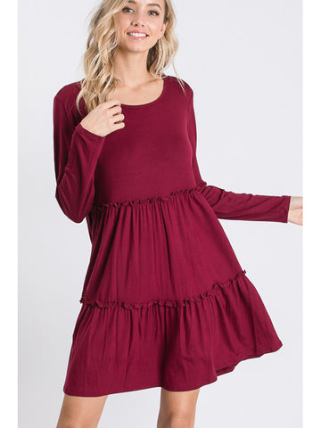 The Feminine Ruffle Dress
