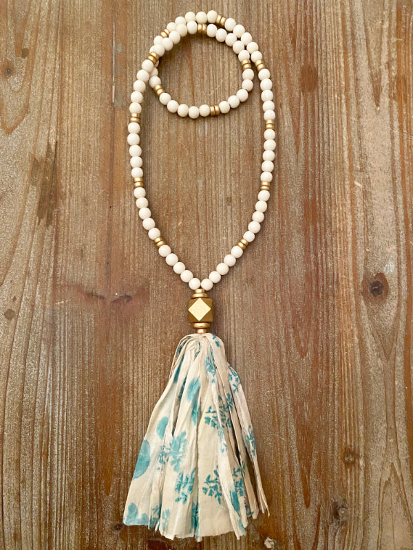 The Jane Tassel Necklace