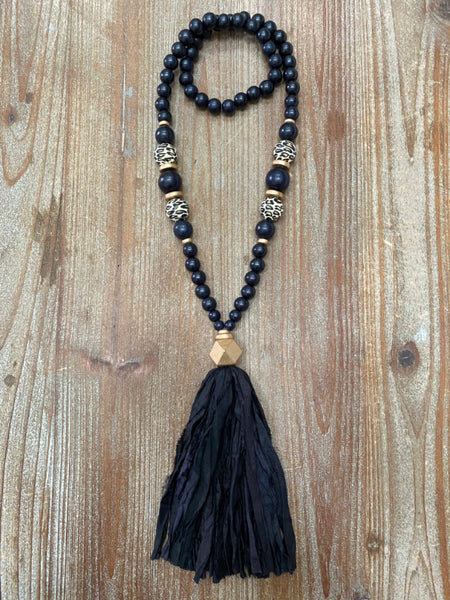 The Kinsley Tassel Necklace