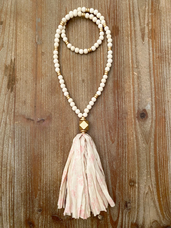 The Matilda Tassel Necklace