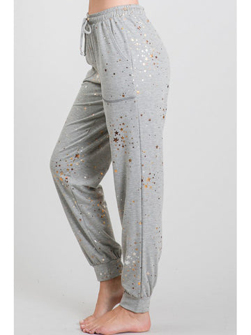 The Metallic Star Jogger