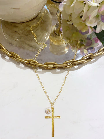 The Shiloh Cross Necklace