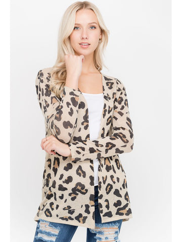 The Leopard Cardigan