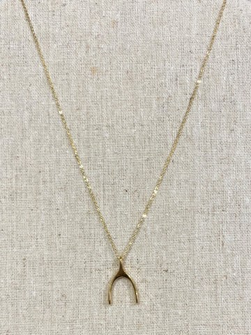 The Wishbone Necklace