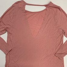 Load image into Gallery viewer, Pink By Victoria's Secret Long Sleeve Top Size Medium