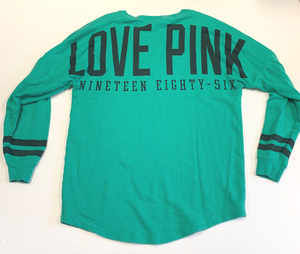Pink By Victoria's Secret Long Sleeve T-Shirt Size Small
