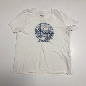 Hollister Short Sleeve Top Size Large