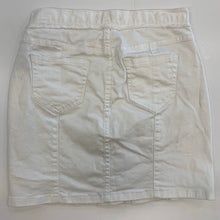 Load image into Gallery viewer, Blu pepper vintage white denim skirt size M